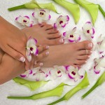 Enjoy a pedicure